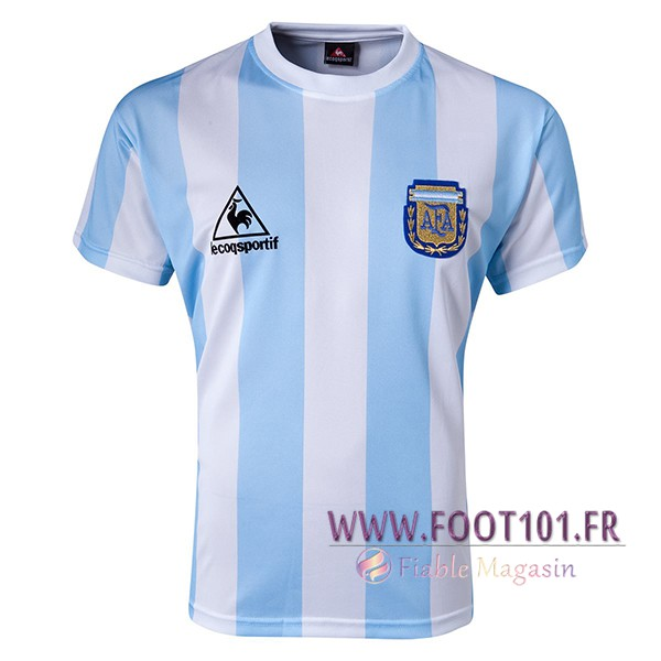 Maillot Foot Argentine Domicile 1986