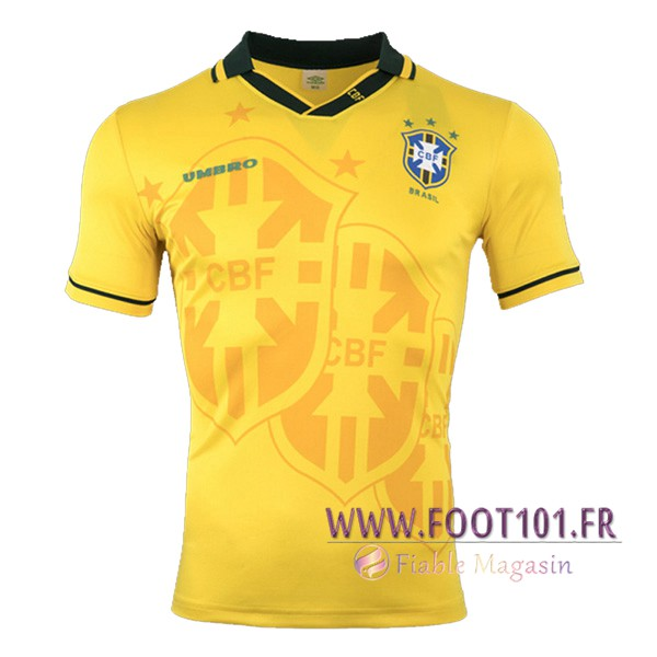 Maillot Foot Bresil Domicile 1993/1994