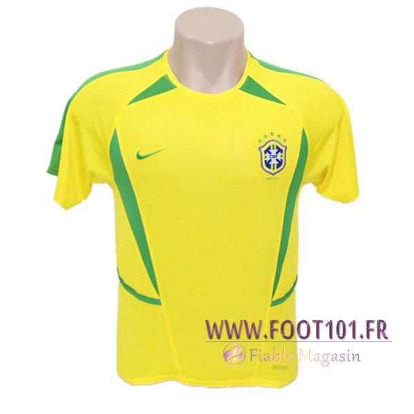 Maillot Foot Bresil Domicile 2002/2003