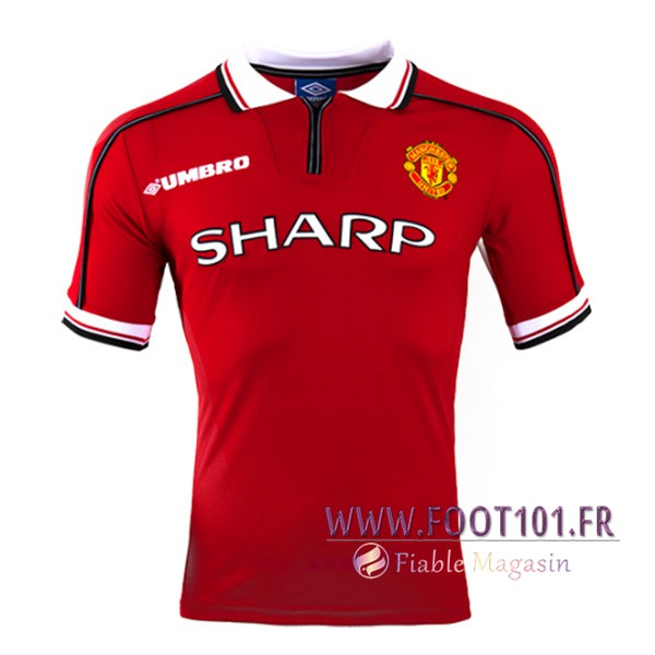 Maillot Foot Manchester United Domicile 1998/1999