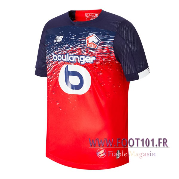 Maillot Foot Lille OSC Domicile 2019/2020