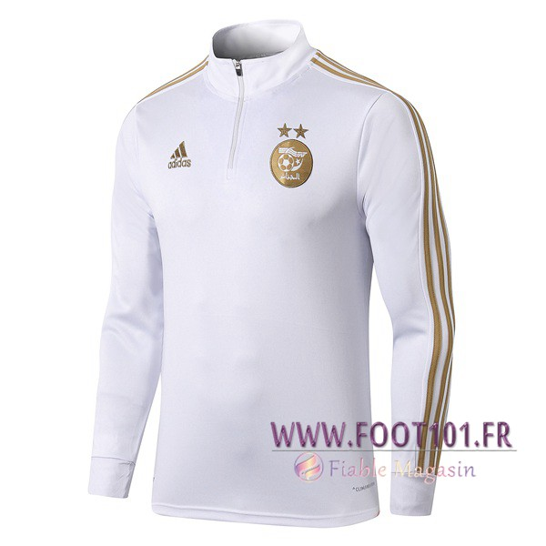 Sweatshirt Training Algerie Blanc 2019/2020