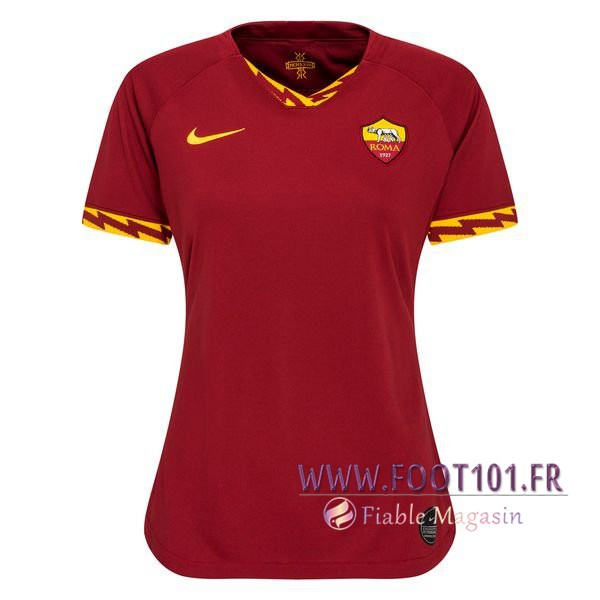 Maillot Foot AS Roma Femme Domicile 2019/2020