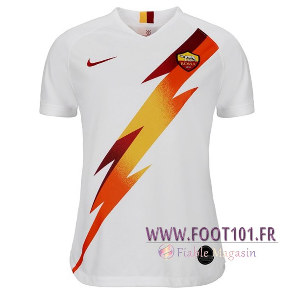 Maillot Foot AS Roma Femme Exterieur 2019/2020