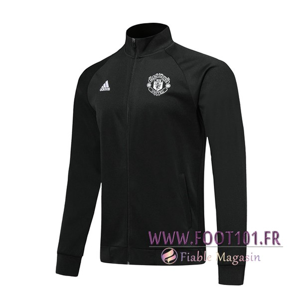 Veste Foot Manchester United Noir 2019/2020