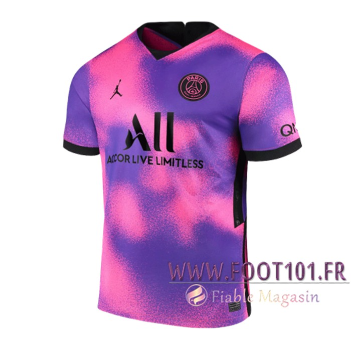 Maillot de Foot PSG Jordan Fourth Stadium 2021