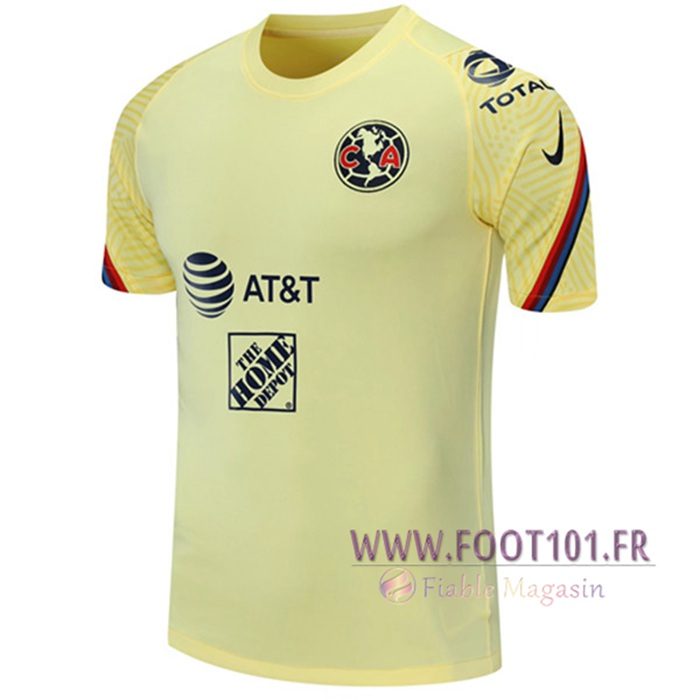 Training T-Shirts Club America Jaune 2021/2022
