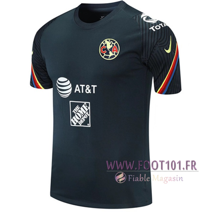 Training T-Shirts Club America Noir 2021/2022