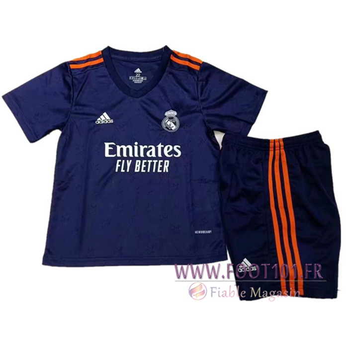 Maillot de Foot Real Madrid Enfant Exterieur 2021/2022