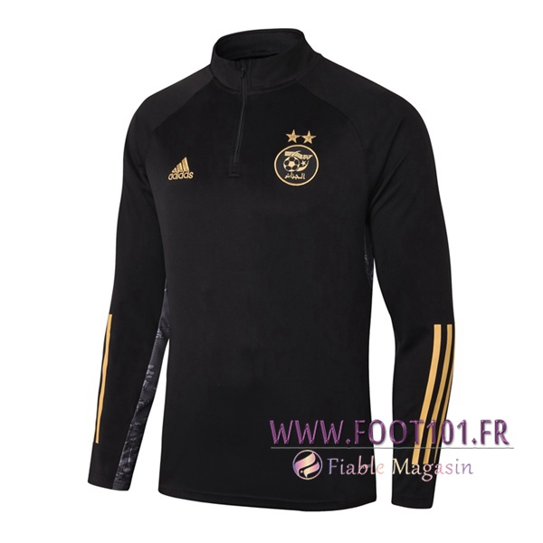 Training Sweatshirt Algerie Noir 2020/2021