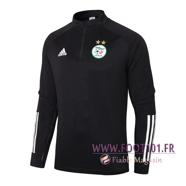 Training Sweatshirt Algerie Noir/Blanc 2020/2021