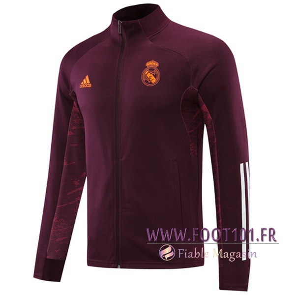 Nouveau Veste Foot Real Madrid Violet 2020/2021