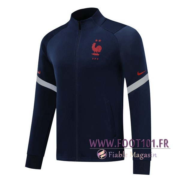 Veste Foot France Bleu Royal 2019/2020