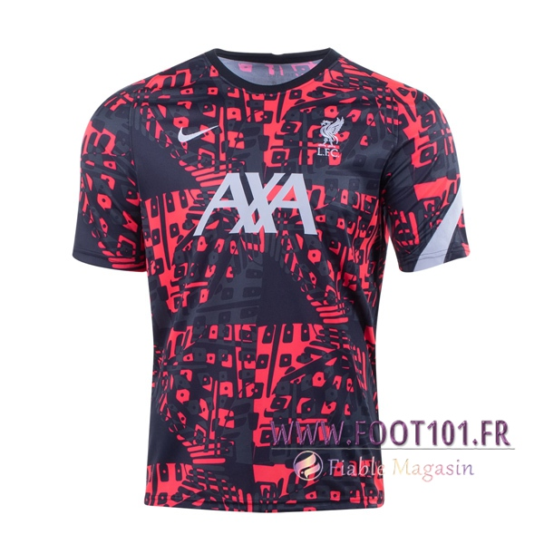 Training T-Shirts FC Liverpool Rouge 2020/2021