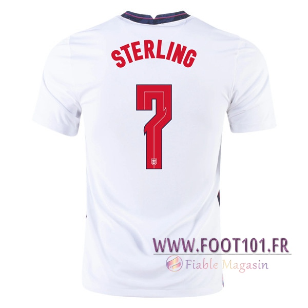 Maillot Equipe Foot Angleterre (Sterling 7) Domicile 2020/2021
