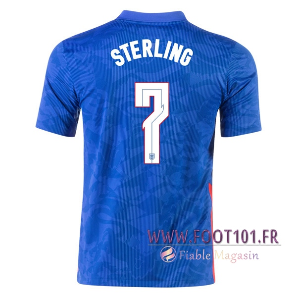 Maillot Equipe Foot Angleterre (Sterling 7) Exterieur 2020/2021