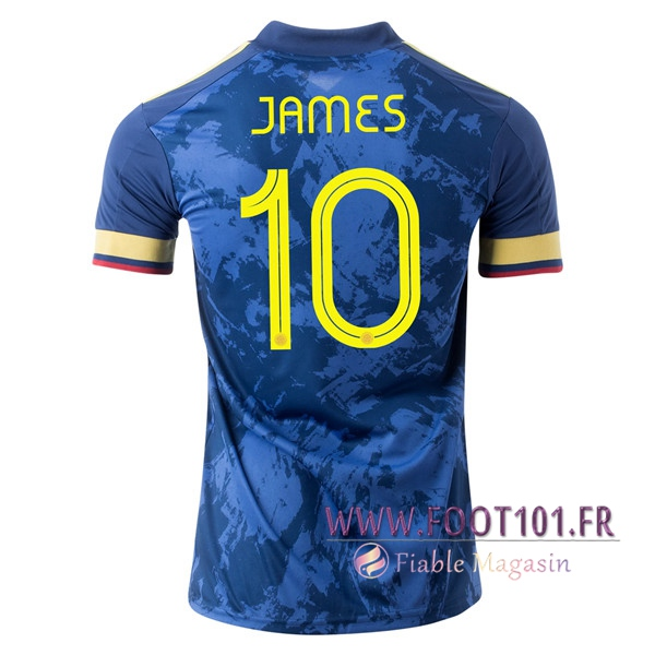 Maillot Equipe Foot Colombie (JAMES 10) Exterieur 2020/2021
