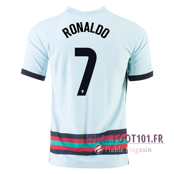 Maillot Equipe Foot Portugal (RONALDO 7) Exterieur 2020/2021