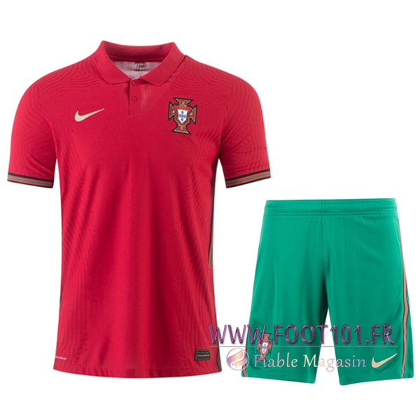 Ensemble Maillot Portugal Domicile + Short UEFA Euro 2020