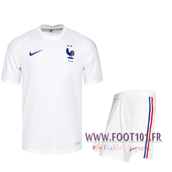 Ensemble Maillot France Exterieur + Short UEFA Euro 2020