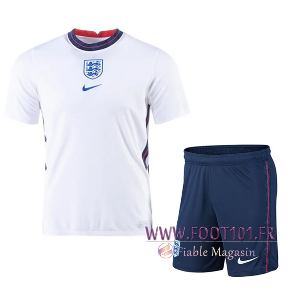 Ensemble Maillot Foot Angleterre Domicile + Short 2020/2021
