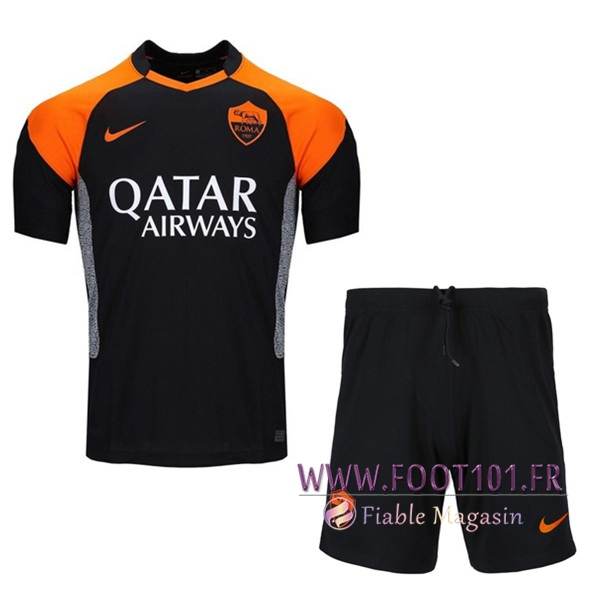 Ensemble Maillot Foot AS Roma Third + Short 2020/2021