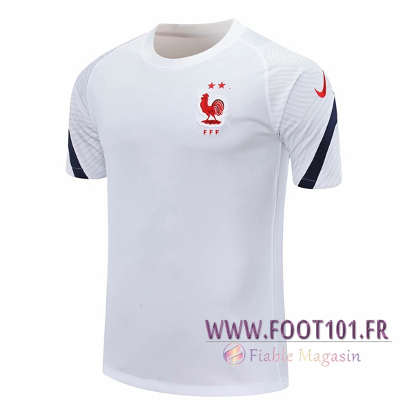 Training T-Shirts France Blanc 2020/2021