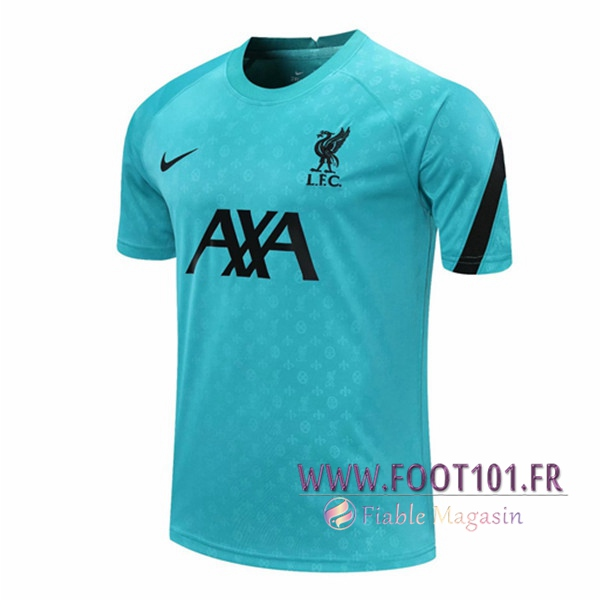 Training T-Shirts FC Liverpool Bleu 2020/2021