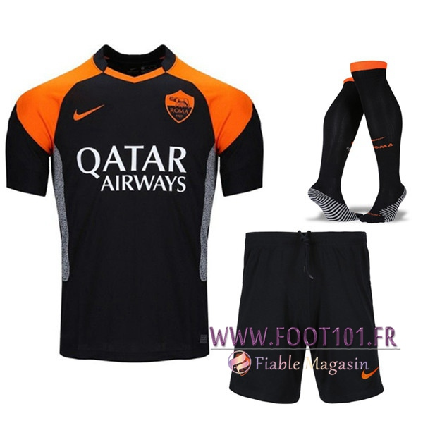 Ensemble Maillot Foot AS Roma Third (Short+Chaussettes) 2020/2021
