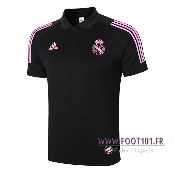Polo Foot Real Madrid Noir 2020/2021