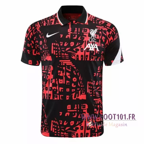 Polo Foot FC Liverpool Noir 2020/2021