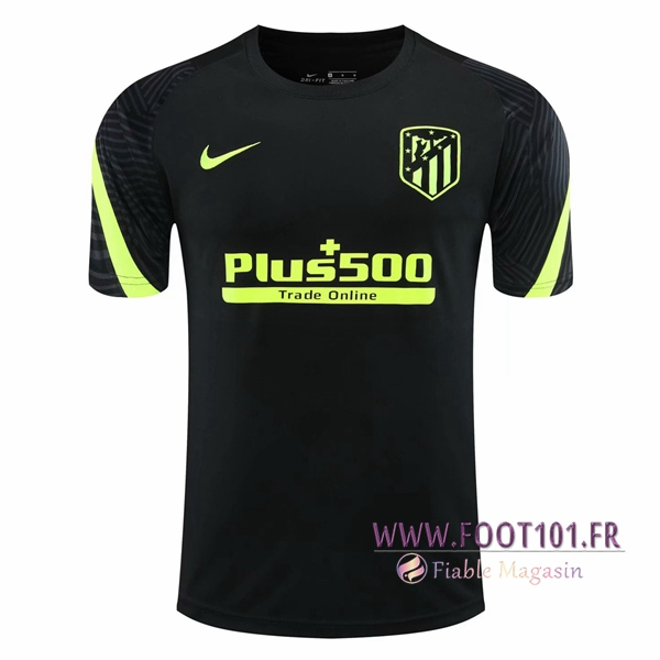 Training T-Shirts Atletico Madrid Noir 2020/2021