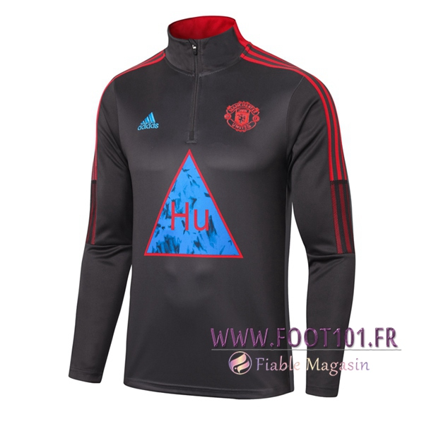 Training Sweatshirt Manchester United Joint Edition Gris Fonce 2020/2021