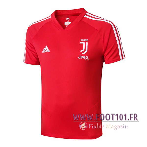 Polo Foot Juventus Rouge 2019/2020