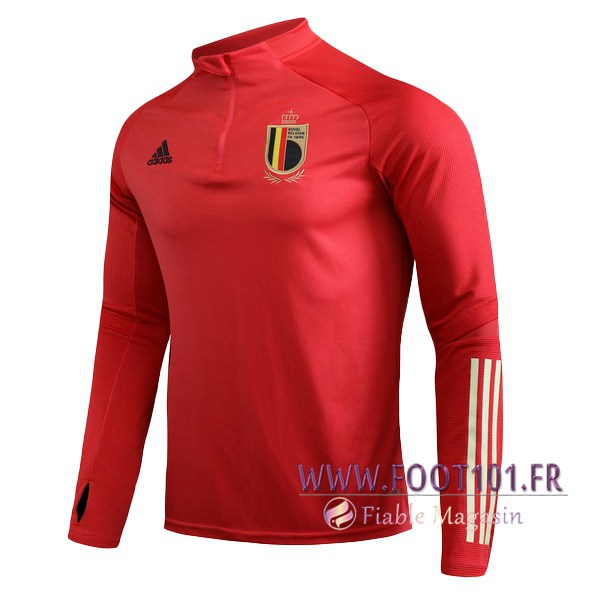Sweatshirt Training Belgique Rouge 2019/2020