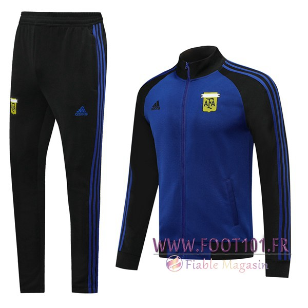 Ensemble Survetement Foot - Veste Argentine Bleu 2019/2020