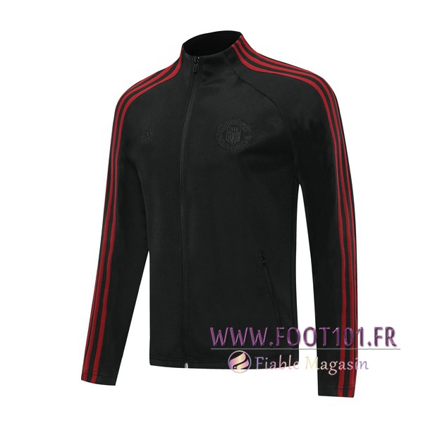 Veste Foot Manchester United Noir 2020/2021