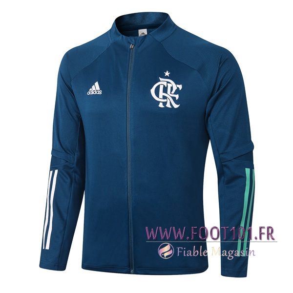 Veste Foot Flamengo Bleu Royal 2020/2021