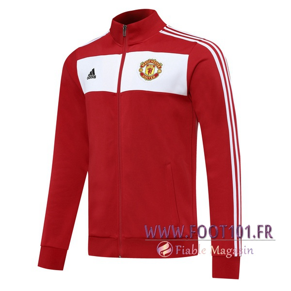 Veste Foot Manchester United Rouge 2020/2021
