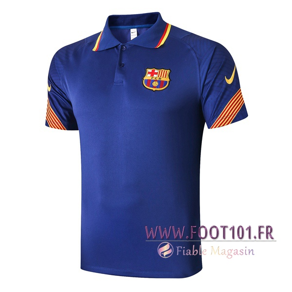 Polo Foot FC Barcelone Bleu 2020/2021