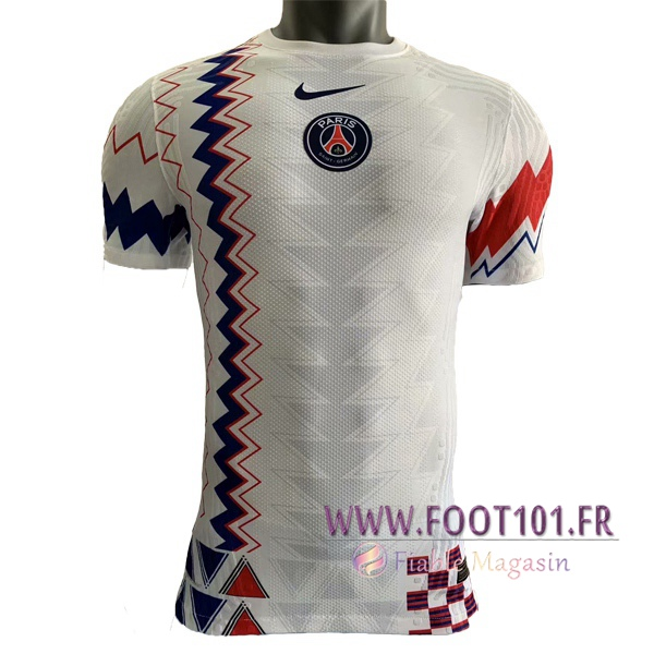 Training T-Shirts Paris PSG Blanc 2020/2021