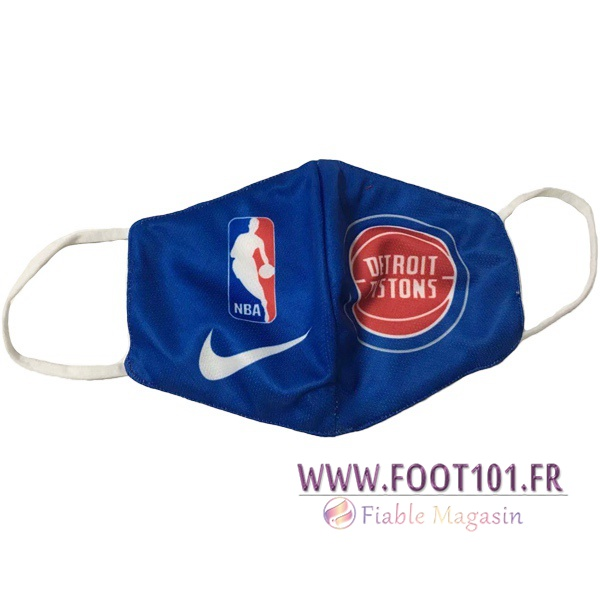 Detroit Pistons KN95 FFP2 Masques Reutilisable