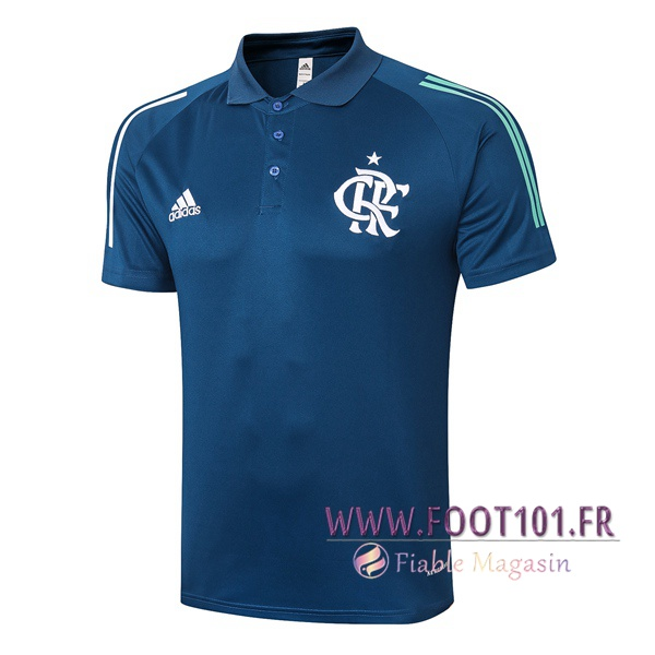 Polo Foot Flamengo Bleu Royal 2020/2021