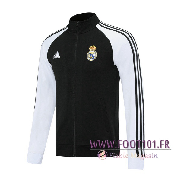 Veste Foot Real Madrid Noir 2020/2021