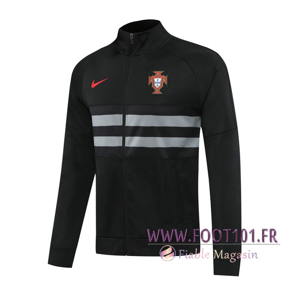 Veste Foot Portugal Noir 2020/2021