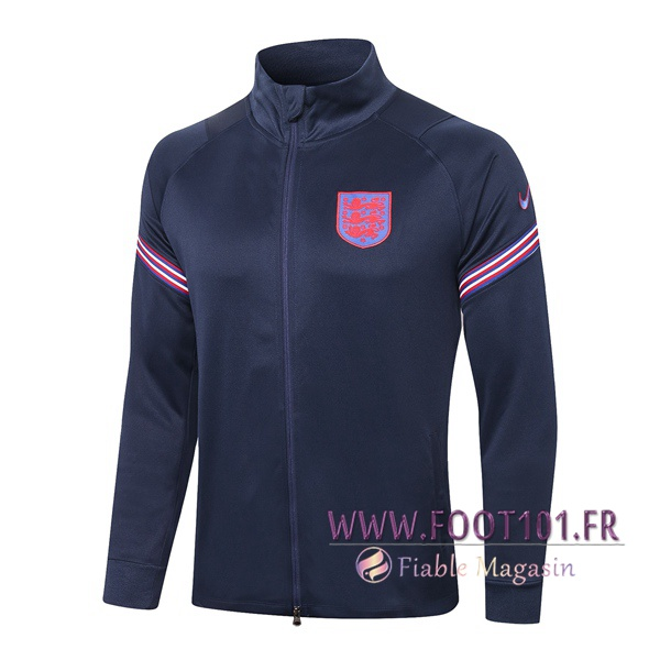 Veste Foot Angleterre Bleu Royal 2020/2021