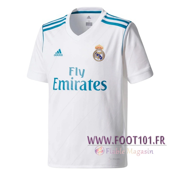 Maillot Retro Real Madrid Domicile 2017/2018