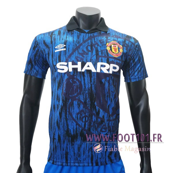 Maillot Retro Manchester United Exterieur 1992/1993