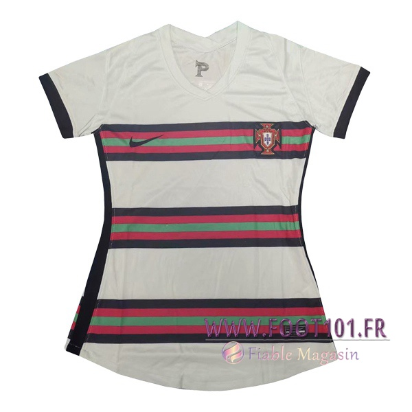 Maillot Foot Portugal Femme Exterieur 2020/2021