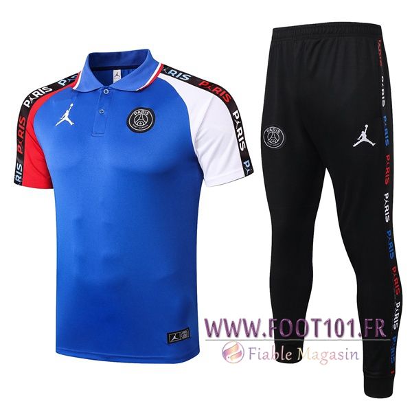 Ensemble Polo Paris PSG + Pantalon Bleu 2020/2021